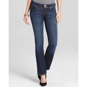 Hudson Beth Baby Boot Stella Cut Flap Pocket Jeans